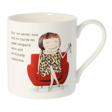 Load image into Gallery viewer, Leopard Print Mug