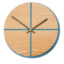 Load image into Gallery viewer, Quarter-too Wall Clock - Ocean Blue