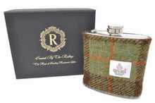 Load image into Gallery viewer, Harris Tweed Hip Flask