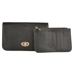 Black Clutch Wallet