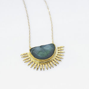 Labradorite Sunrise Necklace