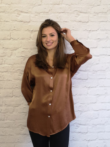 Camel Tilly Shirt