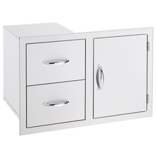 Masonry Access Door & Double Drawer Combo