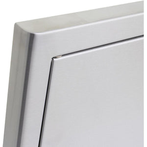 BLAZE 21 INCH SINGLE ACCESS DOOR – LEFT HINGED (VERTICAL),  BLZ-SINGLE-2417-R-LH