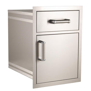Flush Pantry Door & Drawer Combo