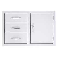Access Door & Triple Drawer Combo