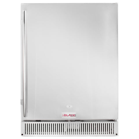 "Blaze Outdoor rated Refrigerator 24"", 5.2CU,  BLZ-SSRF-50DH"