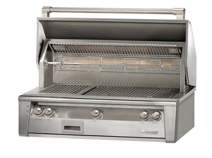 "Alfresco ALXE-42  Built-In Gas Grill 42"" Wide Natural Or Propane Gas"