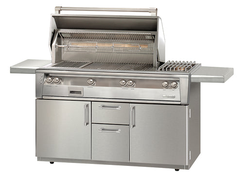 Alfresco ALXE-56C Freestanding Gas Grill Cart 56
