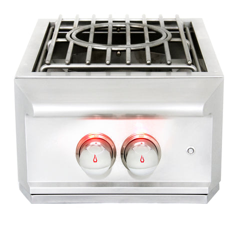 BLAZE PROFESSIONAL BUILT-IN POWER BURNER,  BLZ-PROPB-NG/LP