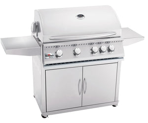 Summerset Sizzler 32-Inch 4-Burner Built-In Propane Gas Grill With Rear Infrared Burner - SIZ32-LP/NG