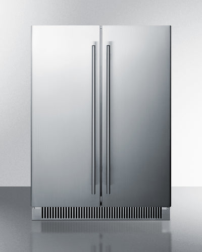 Summit French Door Refrigerator, Model# CL66FDOS, Outdoor Rated