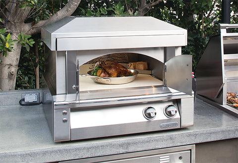 Alfresco AXE-PZA  Pizza Oven Plus for Countertop Mounting