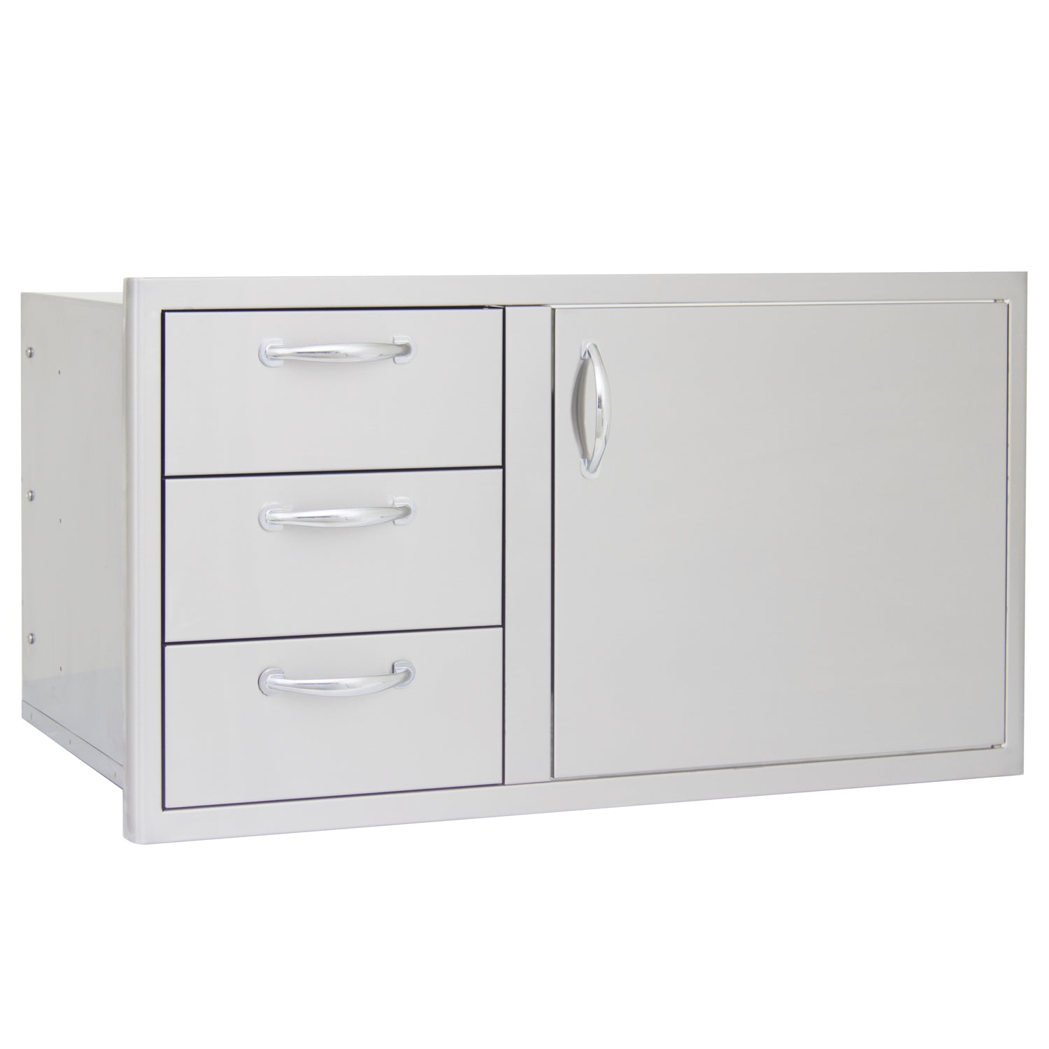 BLAZE 39 INCH ACCESS DOOR AND TRIPLE DRAWER COMBO, BLZ-DDC-39-R