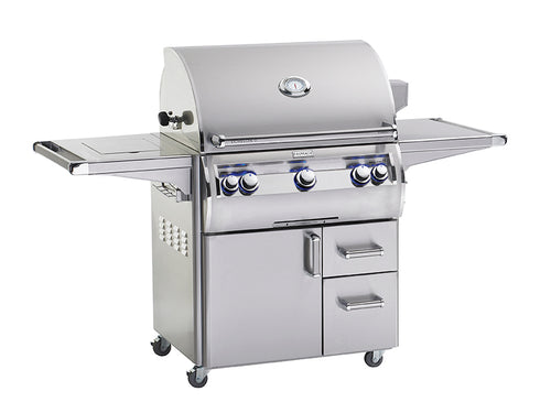 Echelon Diamond E660s Freestanding Grill with Single Side Burner
