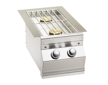 Aurora Double Side Burner