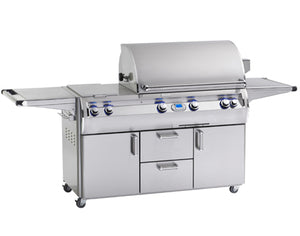Echelon Diamond E790s Freestanding Grill with Double Side Burner