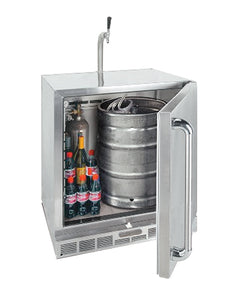 Alfresco URS-1XE  7.25 Cu. Ft. One Door Refrigerator/ Kegerator
