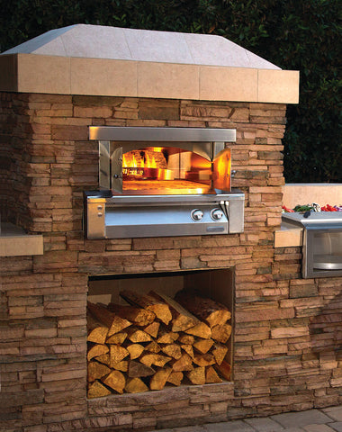 Alfresco AXE-PZA-BI  Built-In Pizza Oven Plus