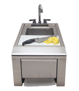 Alfresco ASK-T Prep Plus Hand Wash Sink