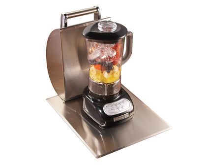 Blender with Stainless Steel Hood