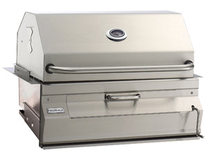 Charcoal Built-In Grill