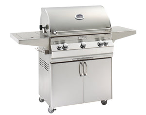 Aurora A540s Freestanding Grill with Single Side Burner