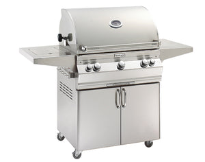 Aurora A660s Freestanding Grill with Single Side Burner