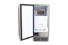 BLAZE 50 LB. 15 INCH OUTDOOR ICE MAKER WITH GRAVITY DRAIN, BLZ-ICEMKR-50GR