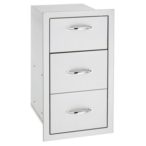 Double Drawer with Paper Towel Holder