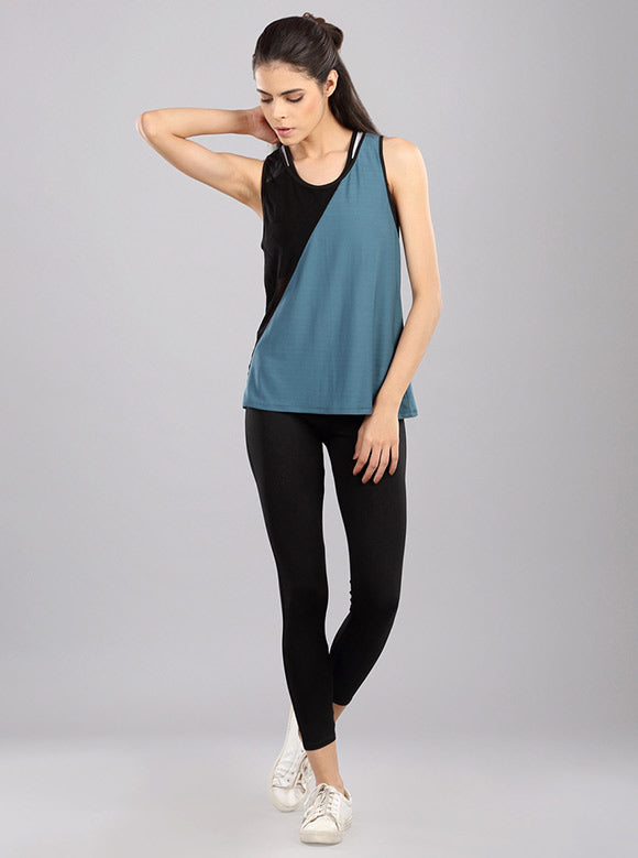 Kica Fire Tank Top Green