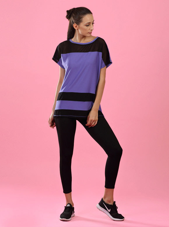 Kica Ripple Top Purple