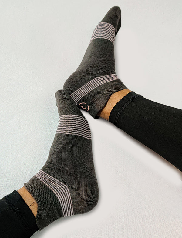 Every Day Essentials Socks Grey - 2 pairs