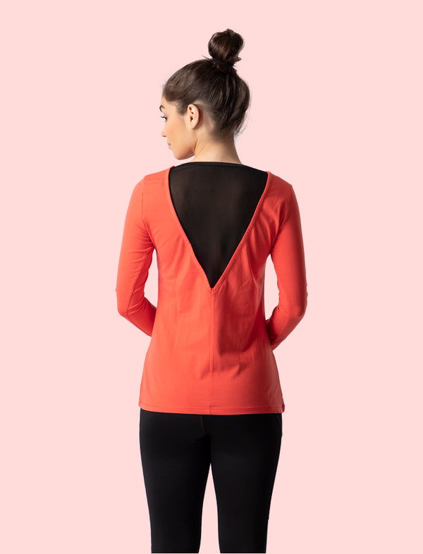 Kica Rebel Top Red