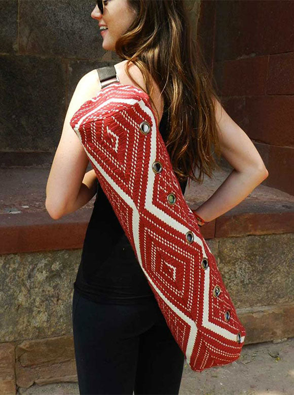 Mystic Asia Yoga Bag Red