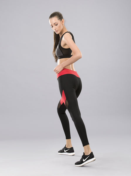 Kica Duel Leggings Red