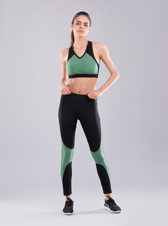 Kica Kinetic Leggings Dark Ivy