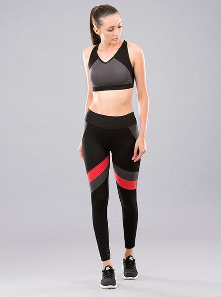 Kica Poise Leggings Poppy Red
