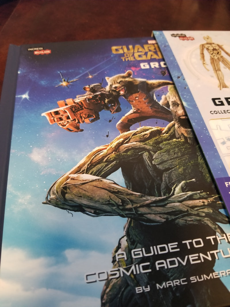 Guardians of the Galaxy Deluxe Book and Model Set