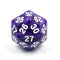D30 Purple Pearl Single Die 30 Sided/s by HDdice / HengDadice