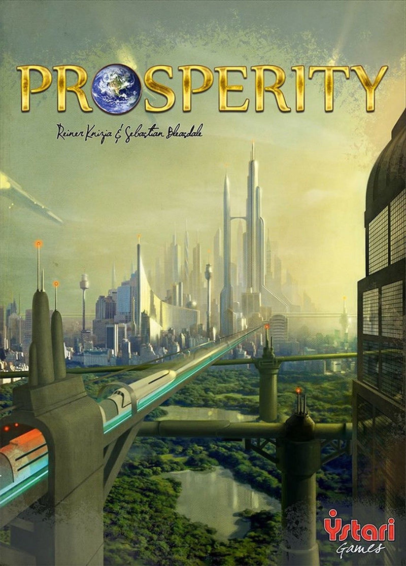 Asmodee Games: Prosperity Board Game (New) Made in Germany Ystari Brand New