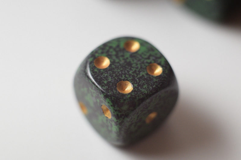 Golden Recon Speckled 16mm D6 Pipped