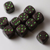 Earth Speckled 16mm D6 Pipped