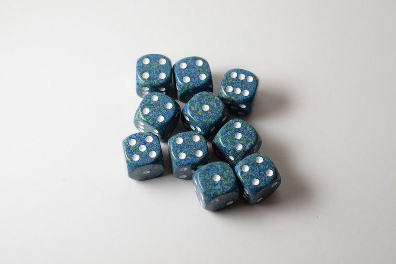 Sea Speckled 16mm D6 Pipped
