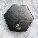 Leather & Flannel Box for DnD Dice Mtg Tabletop Gaming