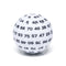 """White"" Single 100 Sided Polyhedral Dice (D100) 