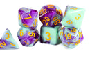 Mystic Orchid Dual Color Swirl Translucent Purple/ Opaque Green