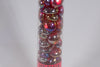 40+ Crystal Red Iridized Glass Gaming Stones Counters
