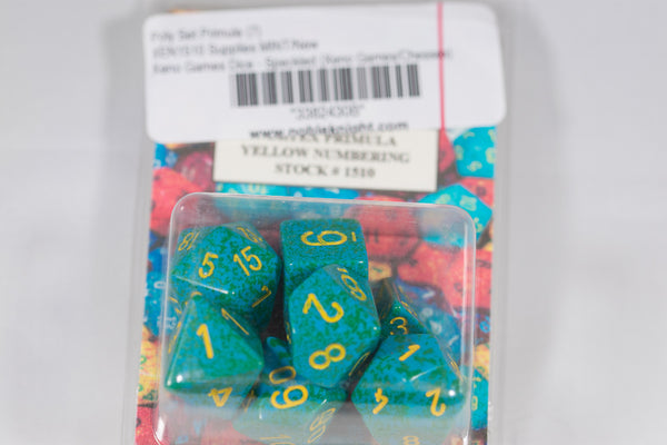 Chessex Primula 7-Dice Poly Set