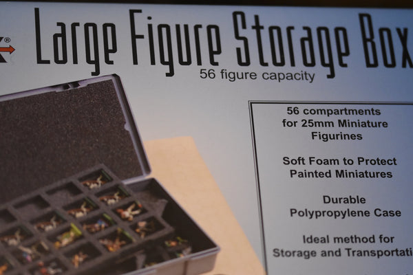 Large Figure Storage Box (56 figure capacity)